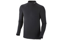 Columbia Men&#039;s Baselayer Midweight Mock Neck LS Top black